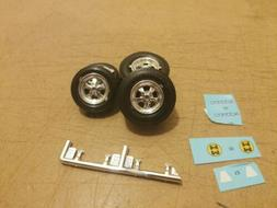 1/25 Scale model Car Cragar SS wheels And M&H racemaster sli