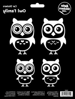 WMI Designs  Owl Family Stickers