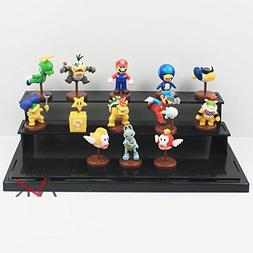 13 Piece /Set Super Mario Bros Figure Luigi Bomb Toad Peach