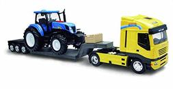 """NewRay 1693 """"New Holland T7070"""" with Truck Model Tractor"""