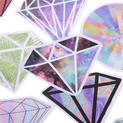 18Pcs Diamonds Stickers For Car Laptop Luggage Skateboard Mo