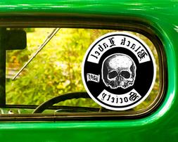 2 BLACK LABEL SOCIETY DECAL Stickers Bogo For Car Bumper Lap