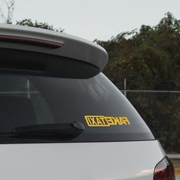 2 pieces FAKE TAXI <font><b>Car</b></font> <font><b>Stickers
