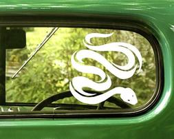 2 SNAKE DECAL Stickers For Car Window Truck Bumper Laptop