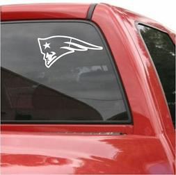 "2 UNITS  New England PATRIOTS 6"" Decal Vinyl Car Truck DECAL"