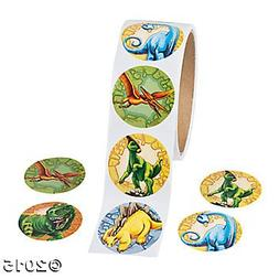 200  Cool DINOSAUR Stickers - PREHISTORIC Party FAVOR - DINO