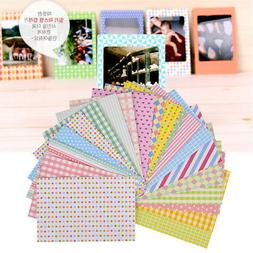 20X Cute Film Photo Book Tape Paper Diary Scrapbook Craft Ho