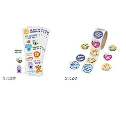 24 CHRISTIAN Sticker Sheets and 100 Round RELIGIOUS - PRAYER