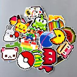 TD ZW 25Pcs/lot Cartoon <font><b>Mario</b></font> Pixel Styl