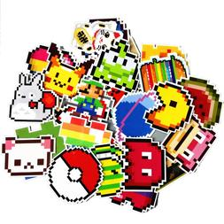 25Pcs/lot Cartoon Super <font><b>Mario</b></font> Pixel Styl