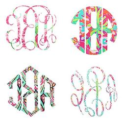 3 Letter Monogram Decal for Your 30oz or 20oz Tumbler - Lill
