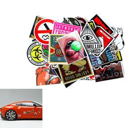 30 pieces car wall stickers motorcycle skateboard