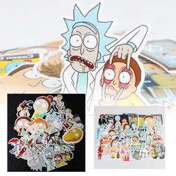 35Pcs Rick and Morty Car Sticker Decal Style Character Decor