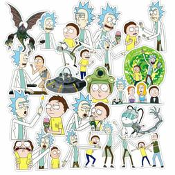 36 PCS Rick and Morty Car Stickers Decal Style Vinyl Charact