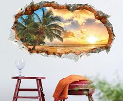Generic 3D Beautiful and peaceful Sunset Beach Scenery Remov