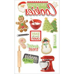 Paper House 3D Stickers - Christmas Cookies 127383