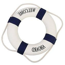 Peyan 4 Sizes Navy Style Lifebuoy Nautical Aboard Sign In Ho