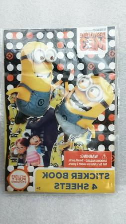 Dispicable Despicable Me 2 Minions 295 STICKERS PAD Stickerland Kids Pad Book