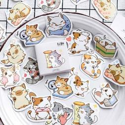 45Pcs/Set Cute Kawaii Cartoon PVC Sticker Scrapbooking DIY B