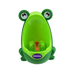 AOMOMO Urinal Potty Training for Boys with Frog Funny Aiming