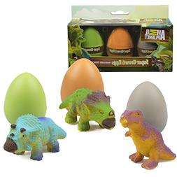 Animal Planet Grow Eggs- Dinosaur - Hatch and Grow Three Dif