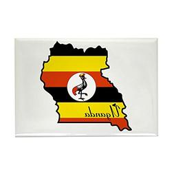 CafePress - Cool Uganda Rectangle Magnet - Rectangle Magnet,