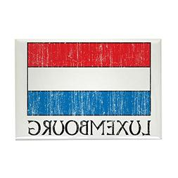 "CafePress - Luxembourg Flag - Rectangle Magnet, 2""x3"" Refrig"