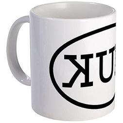 CafePress - MUK Oval Mug - Unique Coffee Mug, Coffee Cup