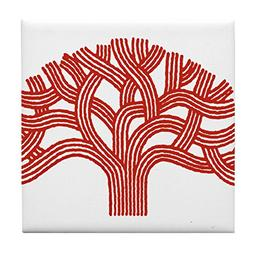 CafePress - Oakland Apple Tree - Tile Coaster, Drink Coaster