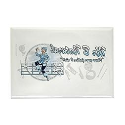 "CafePress - Rectangle Magnet Magnets - Rectangle Magnet, 2""x"