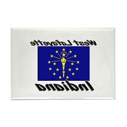 CafePress - West Lafayette Indiana Rectangle Magnet - Rectan