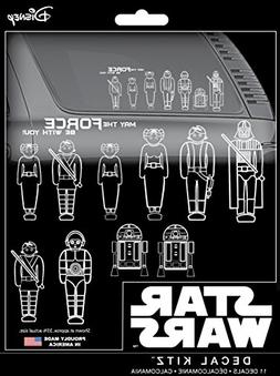 Chroma 45020 Star Wars Family Decal Kit,