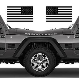 Classic Biker Gear Subdued American Flags Tactical Military