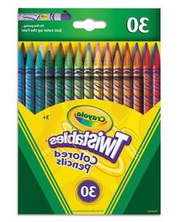 Crayola; Twistables; Colored Pencils; Art Tools; 30 Count; B
