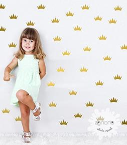 Crown Wall Decal / Mini Princess Crown Decal / Party Decorat