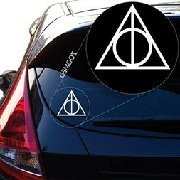 Deathly Hallows inspired Harry Potter Decal Sticker for Car