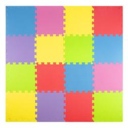 Foam Play Mats  Kids Puzzle Playmat Tiles | Non-Toxic Interl