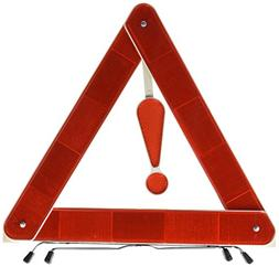 Folding Emergency Warning Safety Triangle Traffic Sign Red f