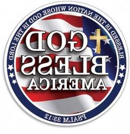 """God Bless America Psalm 33:12 Scripture """"Blessed is the Nati"""