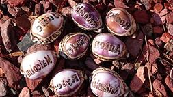 'Laila' Personalized Seashells Engraved. Names Engraved on a