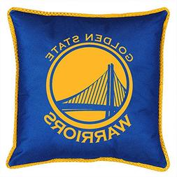 NBA Golden State Warriors Sidelines Toss Pillow, 17 x 17, Br