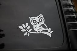 Owl Sticker Vinyl Cut Out Decal Cute Car Truck Window Laptop