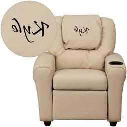 Personalized Kids Recliner Upholstery Type - Color: Vinyl -
