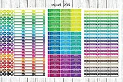 """Planner stickers, calendar stickers, """"Appointment"""", 3 full s"""