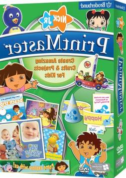 PrintMaster Nick Jr. Edition