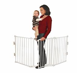 Regalo Super Wide Metal Configurable Baby Gate with 4 Pack o