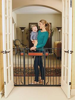 Regalo Home Accents Extra Tall and Wide Walk Thru Gate, with