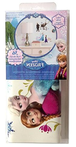 RoomMates Disney Frozen Peel & Stick 36 Wall Decals