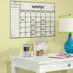 RoomMates RMK2477SLM Scroll Dry Erase Calendar Peel and Stic