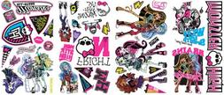 Roommates Rmk2190Scs Monster High Peel And Stick Wall Decals